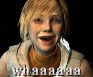 heather mason, horror game, and silent hill image