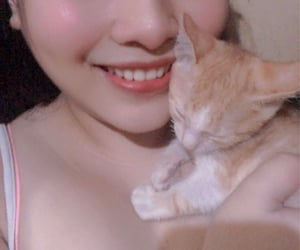 cat, me, and ginger image