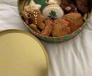 christmas, cookie, and food image