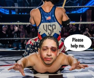 help, submission, and wrestler image