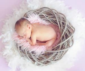 baby, cute baby, and baby sleep image