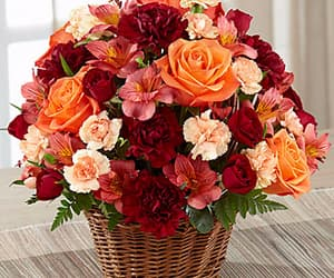 aesthetic, autumn, and bouquet image