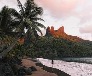 beach, adventure, and nature image