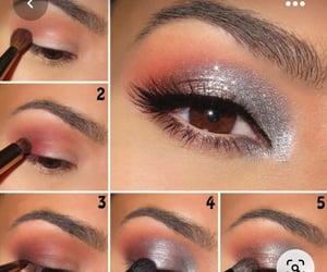 make up, make up pink, and máquillaje image
