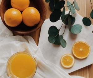 drink, photography, and orange image