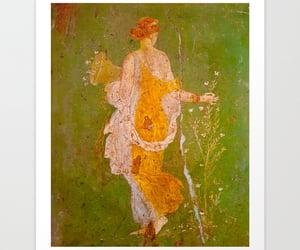 pompeii, vintage art, and historic art image