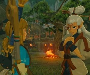 boy, link, and videogame image