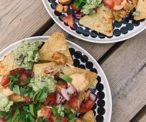 cilantro, nacho, and guacamole image