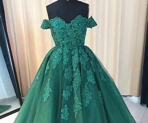 ball gown, evening dress, and evening gown image