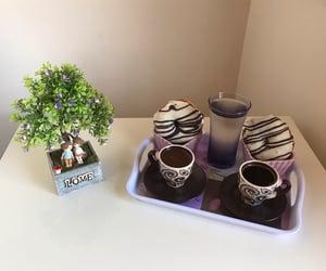 chocolate, white, and coffee image