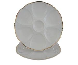 porcelain plate, vintage limoges, and limoges porcelain image
