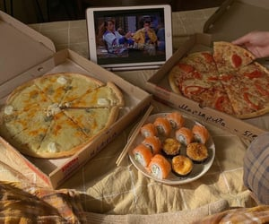 pizza and sushi image