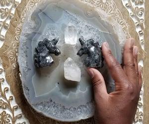 crystal, quartz, and clear quartz image
