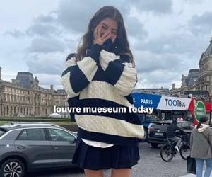 aesthetic, paris, and tourist image