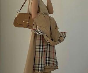 bag, coat, and brown image