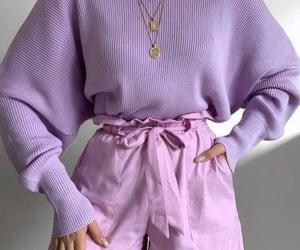 dress, fashion, and lilac image