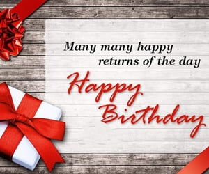 birthday, for you, and birthday gift image