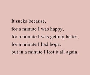 quotes, happy, and hope image