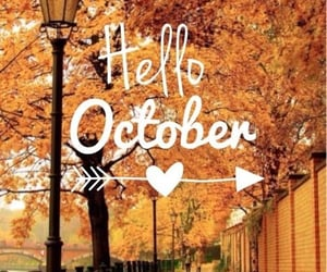 autumn, october, and hellooctober image