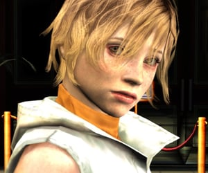 icons, heather mason, and silent hill image