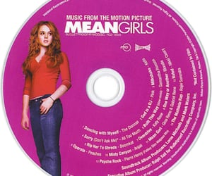 cd, disc, and mean girls image