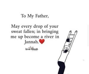 islam, father, and dua image