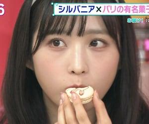 eating, yuiyui, and 小栗有以 image