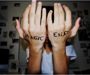 magic, hands, and boy image