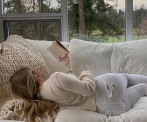 book, girly, and cozy image
