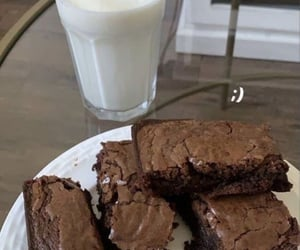 brownies, delicious, and food image