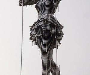 art, metal sculpture, and sculpture image