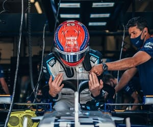driver, williams racing, and f1 image
