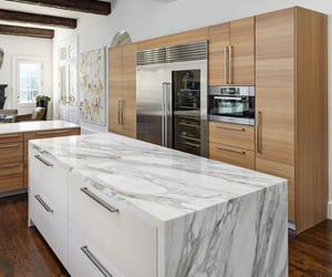 fashion, kitchen, and marble image