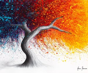 arbol, arte, and belleza image