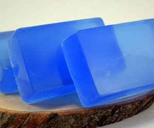 blue, homemade soap, and etsy image