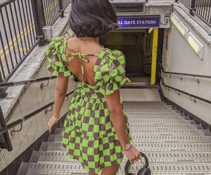 colorful, fashion, and green image