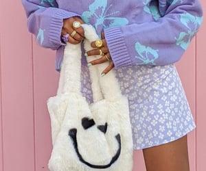 bag, skirt, and fashion image
