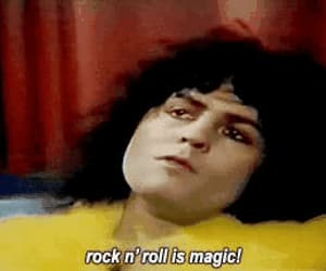 70s, rock n' roll, and gif image