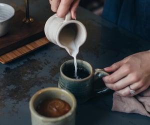 coffee, coffee art, and via oldfarmhouse image