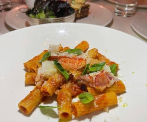 pasta and seafood image