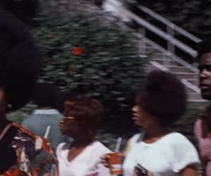 70's, gif, and Afro image