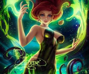 disney, little mermaid, and the little mermaid image