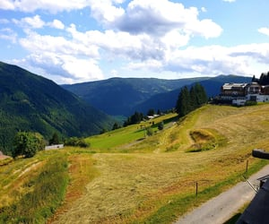 adventure, austria, and cloudy image
