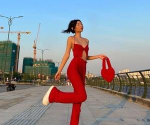 bold, bright, and fashion image