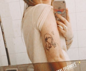 lover, Swift, and tattoo image