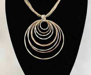 etsy, modernist pendant, and sterling silver image