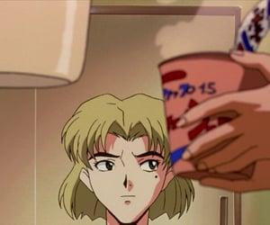 90s, ritsuko akagi, and Neon Genesis Evangelion image