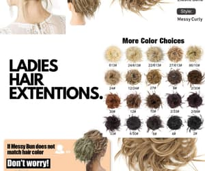 hair style, hair color, and health and beauty image