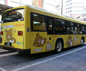 japan, bus, and kawaii image