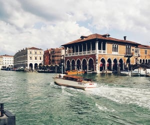 canal grande, italy, and venice image